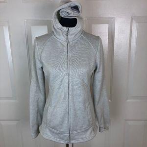 Mondetta Beige Full Zip Jacket Size M